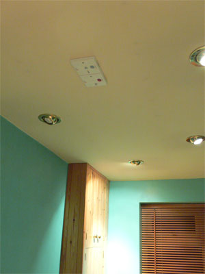 LPS and IRM modules in ceiling