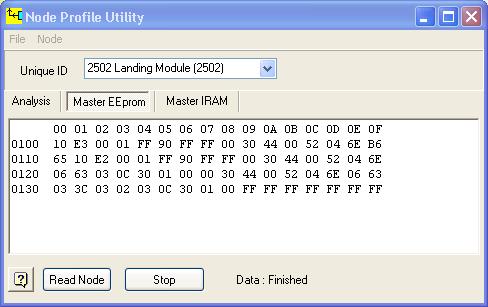 Node Profiler EEPROM
